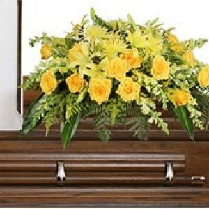 Yellow Casket Spray